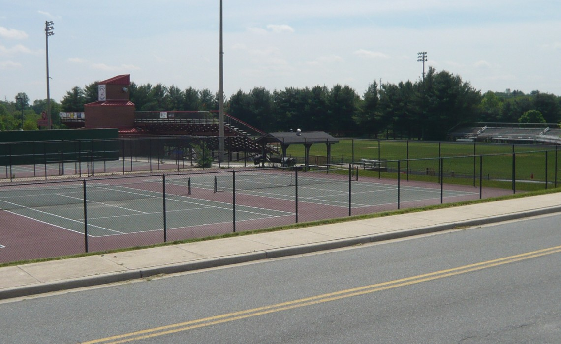 Quince Orchard HS tennis courts