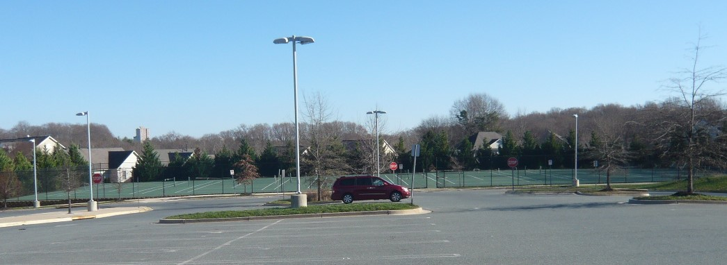 Lakelands Park MS tennis courts