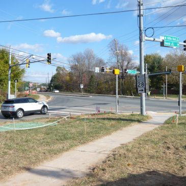 Darnestown and Riffle Ford Intersection Improvement
