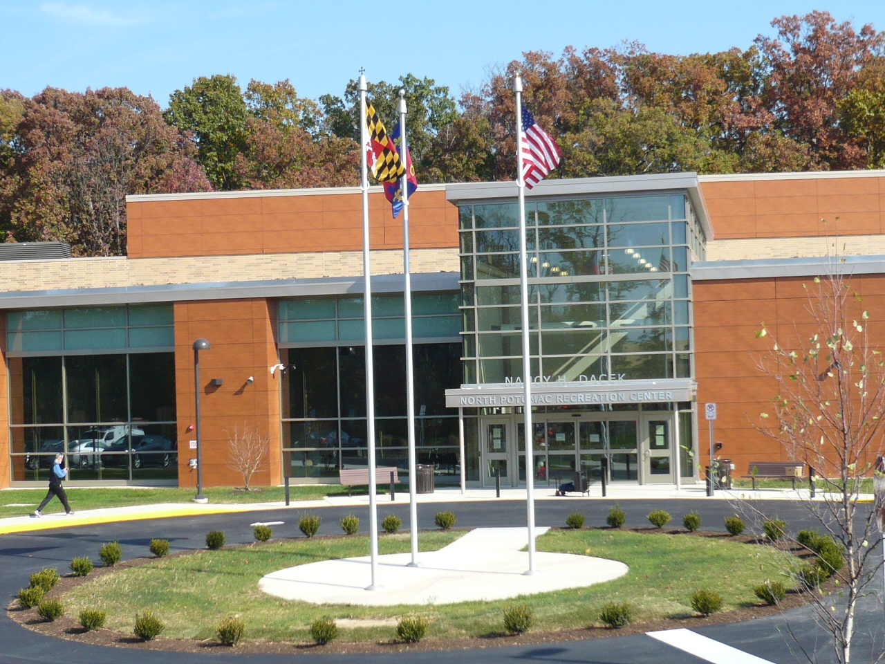 Exterior: North Potomac Community Recreation Center