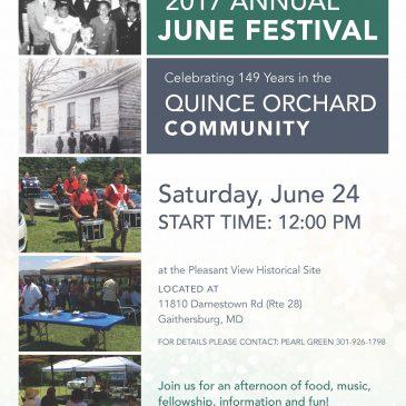 Pleasant View Historic Assn June 24 Festival